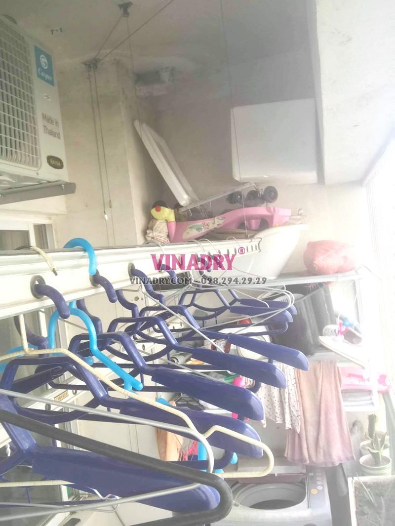 Sửa giàn phơi tại Hà Đông nhà chị Tú, chung cư CT3 Văn Khê - 02