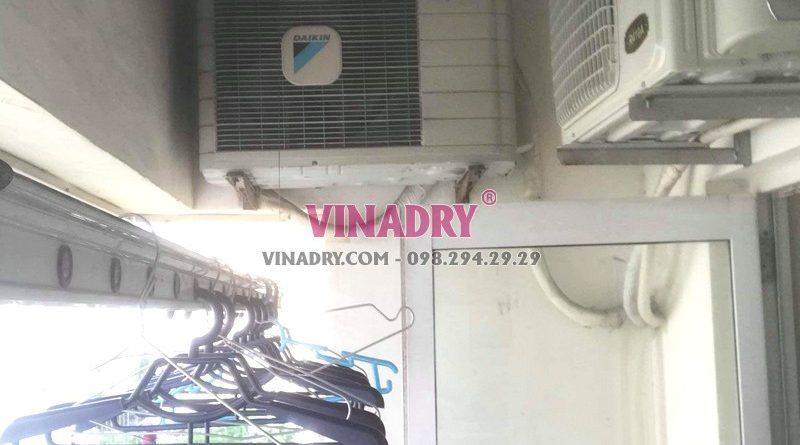 Sửa giàn phơi tại Hà Đông nhà chị Tú, chung cư CT3 Văn Khê - 04