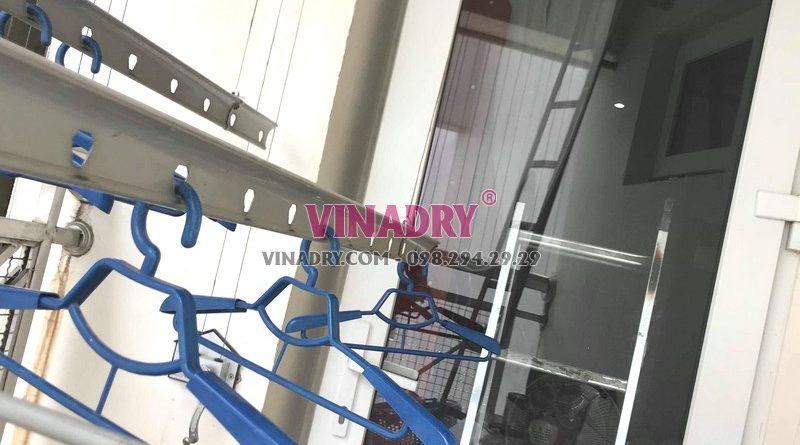 Sửa giàn phơi thông minh bị đứt cáp tại Cầu giấy nhà chị Hoa, tòa 29T2 Hoàng Đạo Thúy - 02