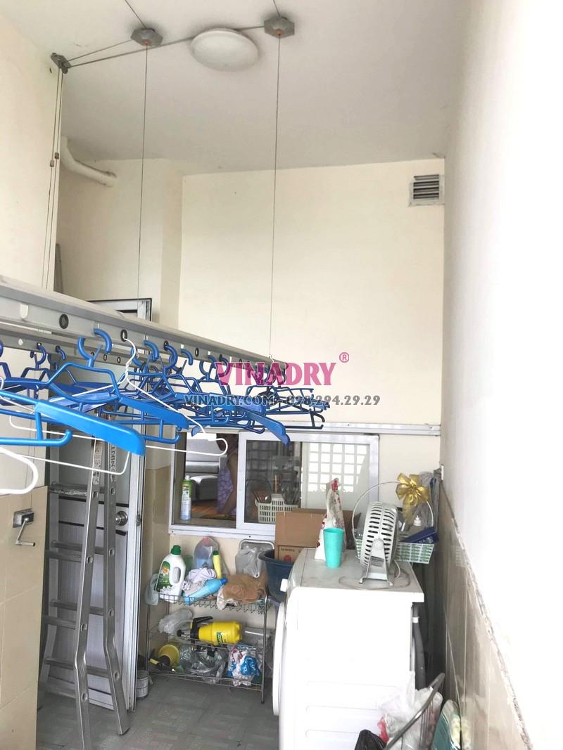 Sửa giàn phơi Nam Từ Liêm giá rẻ tại nhà chị Thành, tòa nhà C'land Lê Đức Thọ - 05