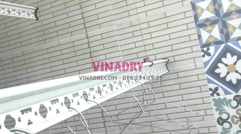 Sửa giàn phơi tại Thanh Xuân, thay dây cáp giá rẻ nhà chị Nhung, chung cư A2 Nguyễn Xiển - 01
