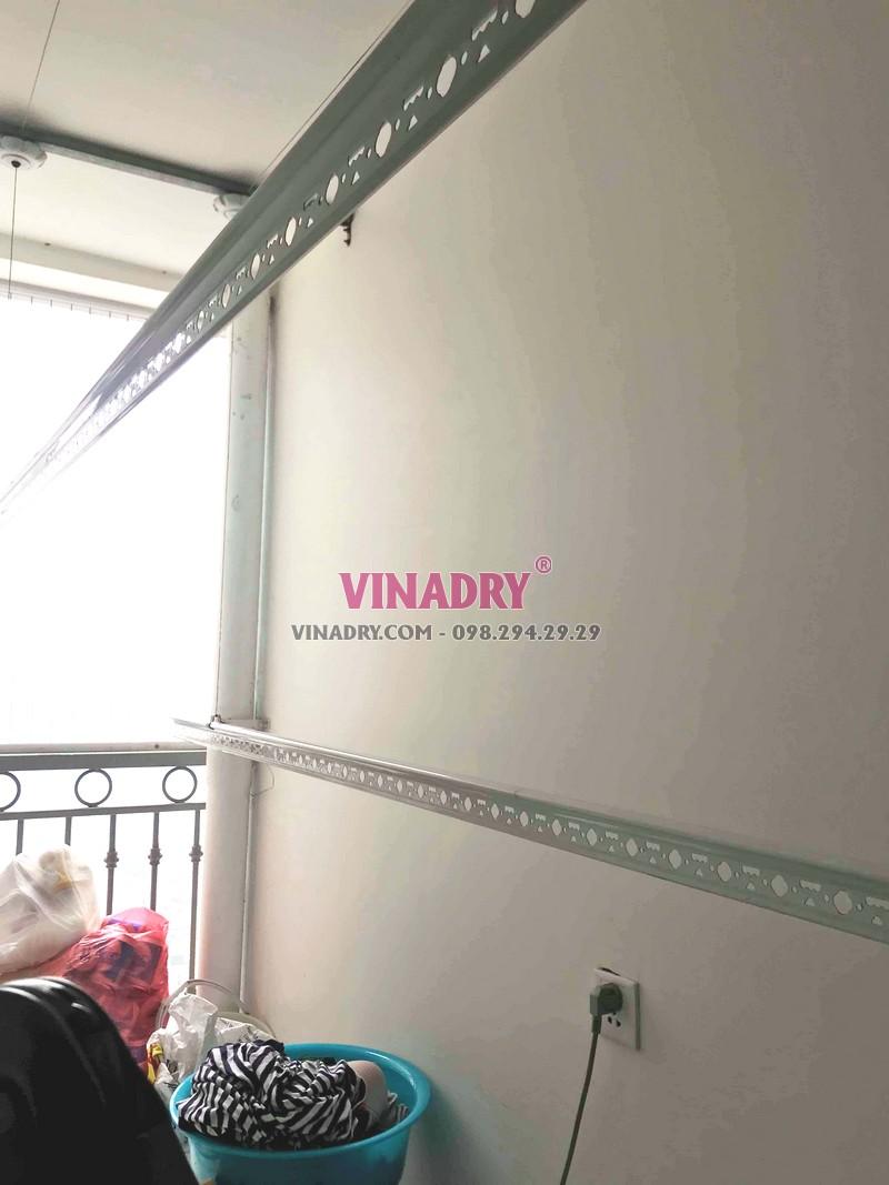 Sửa giàn phơi tại Đống Đa nhà chị Qúy, chung cư Vinhomes Nguyễn Chí Thanh - 02