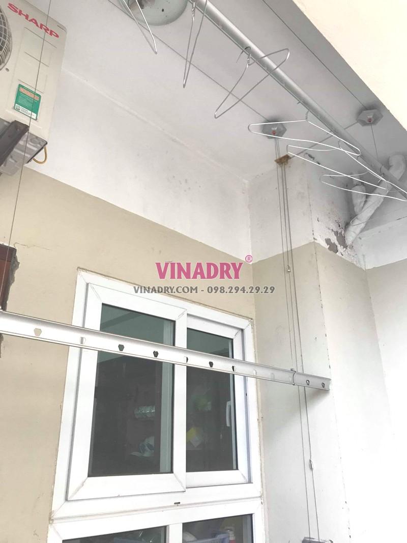 Thay củ quay giàn phơi giá rẻ tại Hoàng Mai Hà Nội nhà chị Lý, KĐT Kim Văn Kim Lũ - 03