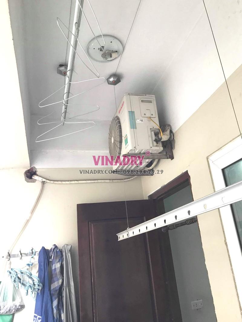 Thay củ quay giàn phơi giá rẻ tại Hoàng Mai Hà Nội nhà chị Lý, KĐT Kim Văn Kim Lũ - 06