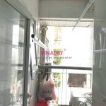 Thay 2 dây cáp giàn phơi chỉ 250k tại nhà chị Tiên, CT1 chung cư viện 103