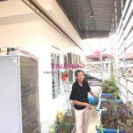 Lắp giàn phơi cho trần mái tôn nhà chú Thụy, ngõ 255 Cầu Giấy, Hà Nội
