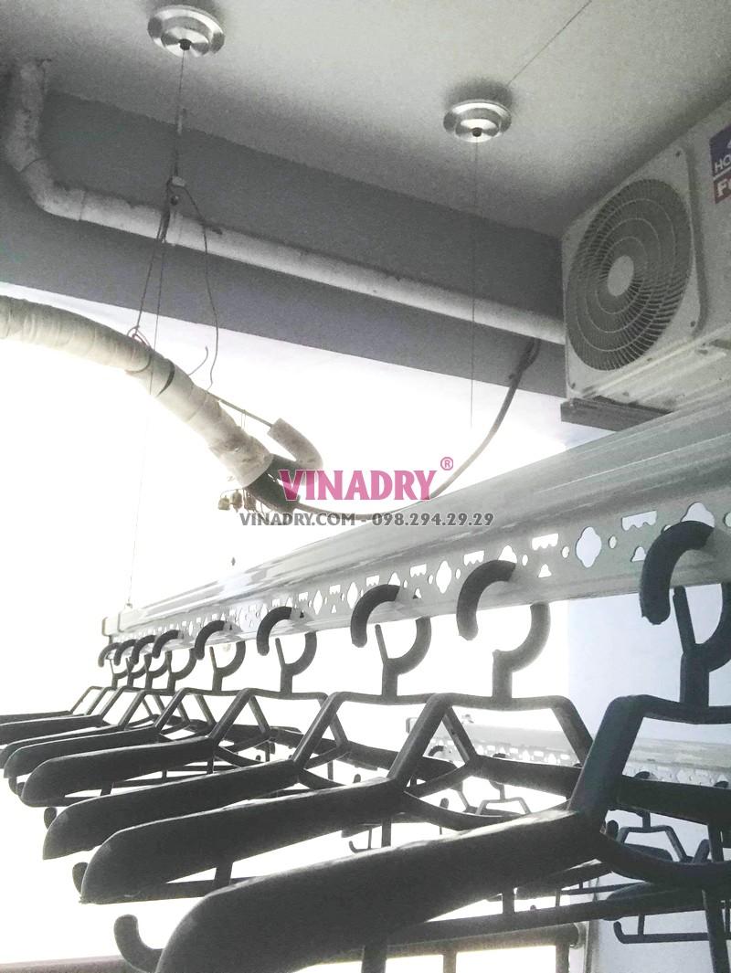 Lắp giàn phơi Hà Đông tại chung cư FLC Star Tower nhà chị Toàn - 06