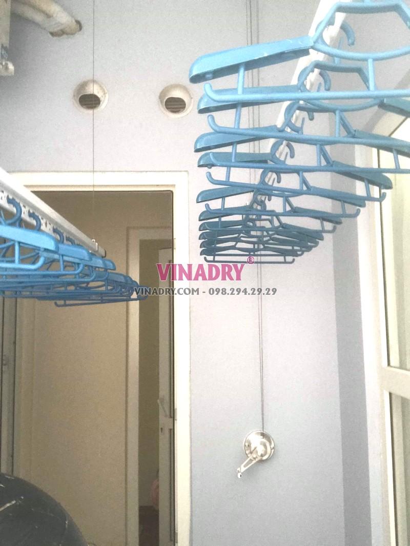 Lắp giàn phơi Hà Đông tại chung cư FLC Star Tower nhà chị Toàn - 07