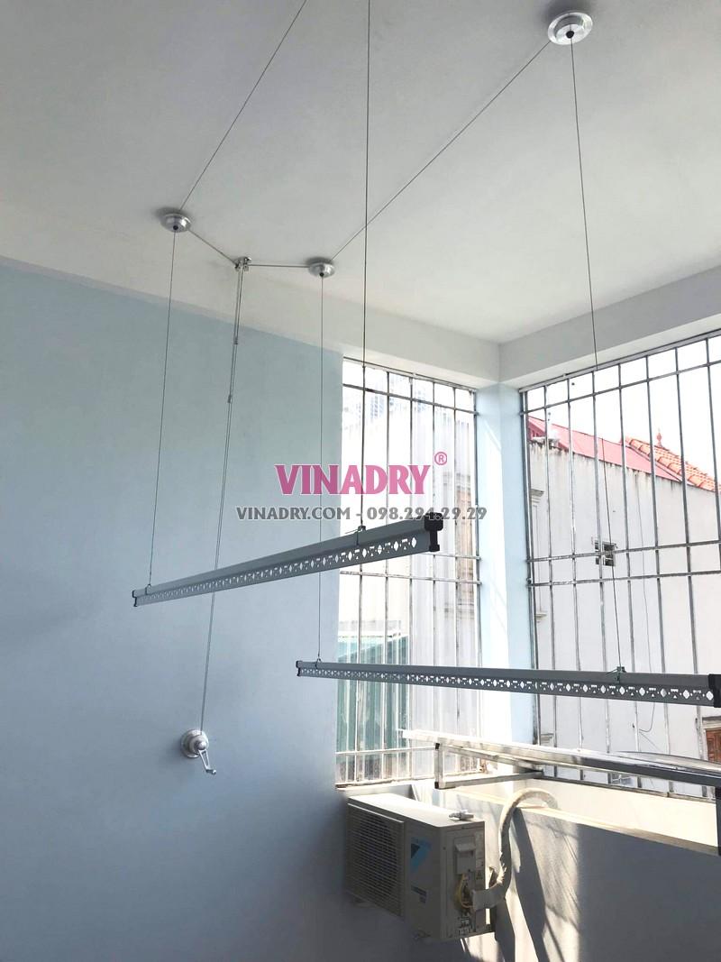 Lắp giàn phơi Long Biên, ngõ 229 Nguyễn Văn Linh bộ HP701 giá 1.390k