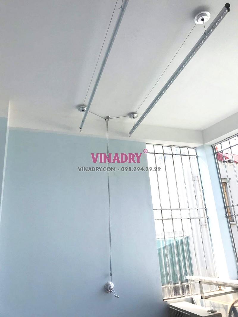 Lắp giàn phơi Long Biên, ngõ 229 Nguyễn Văn Linh bộ HP701 giá 1.390k - 03