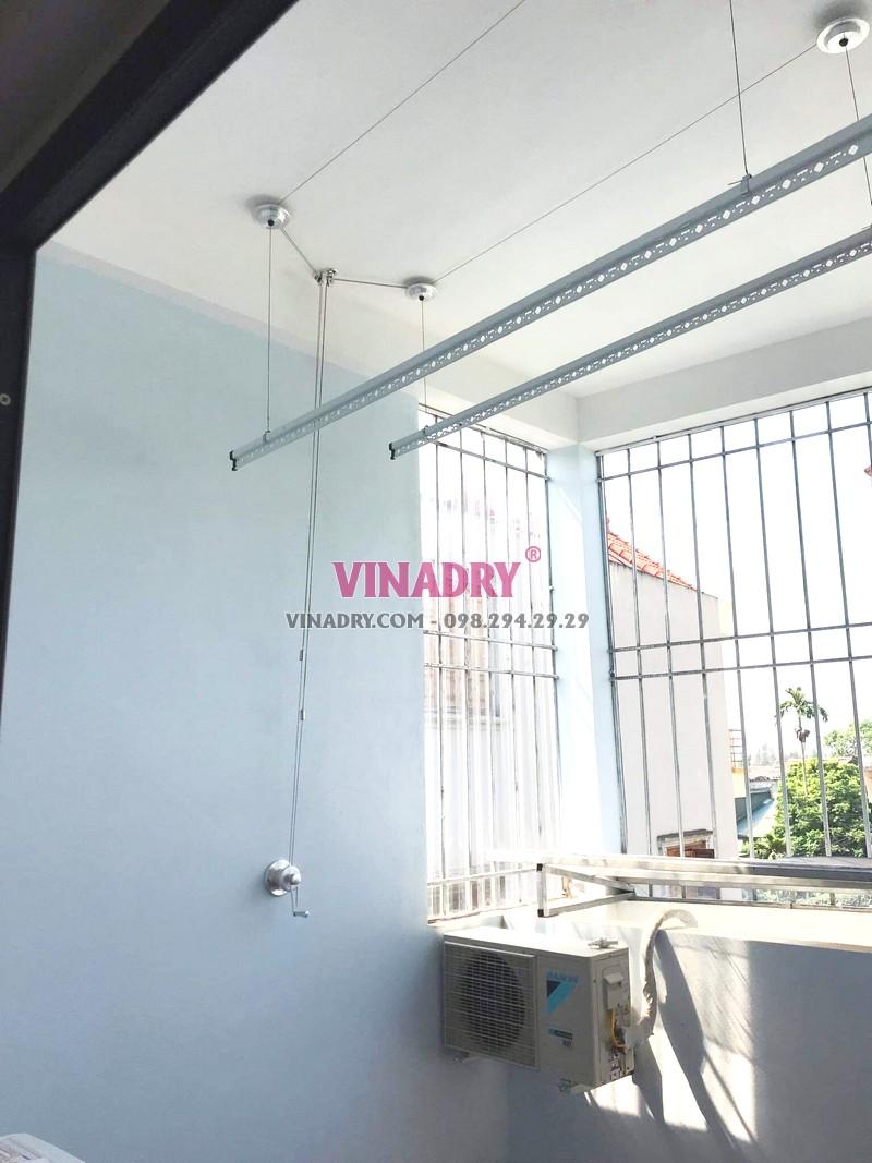 Lắp giàn phơi Long Biên, ngõ 229 Nguyễn Văn Linh bộ HP701 giá 1.390k - 06