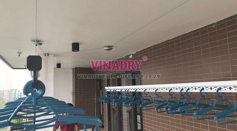 Lắp giàn phơi tại Vinhomes Ocean Park khách hàng cực an tâm về chất lượng