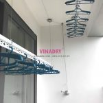 Lắp bộ giàn phơi giá rẻ KS950 tại chung cư N08 Giang Biên, Long Biên Hà Nội