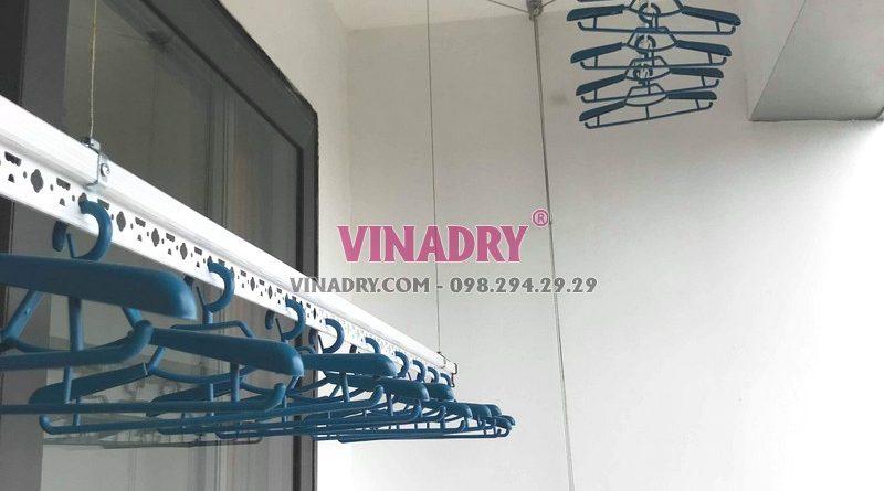 Lắp giàn phơi thông minh Long Biên tại chung cư N08 Giang Biên nhà anh Thiện - 03