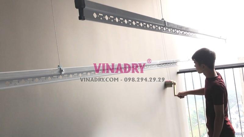 Lắp giàn phơi thông minh Vinhomes Smart City mẫu Vinadry GP982