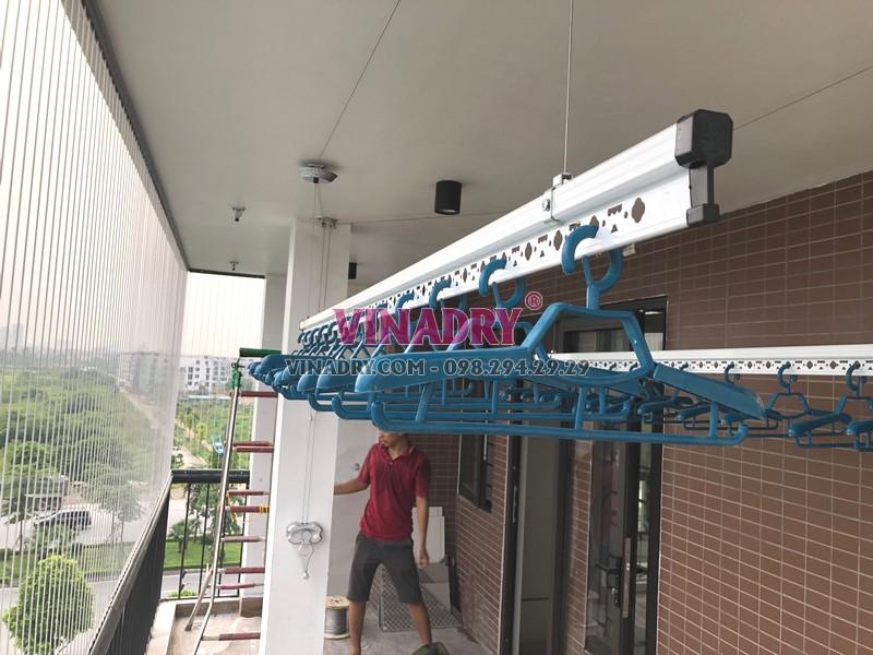 Lắp giàn phơi thông minh tại Vinhomes Smart City chuyên nghiệp, giá rẻ
