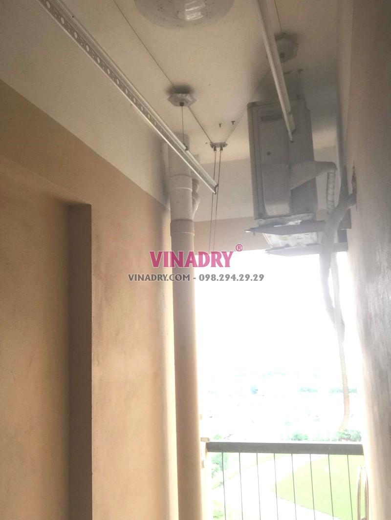 Sửa chữa giàn phơi thông minh tại Hoàng Mai nhà anh Kỹ, chung cư CT36B Định Công -01