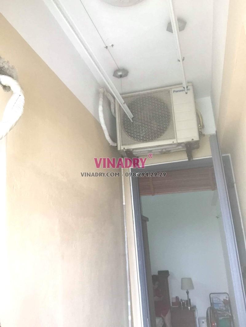 Sửa chữa giàn phơi thông minh tại Hoàng Mai nhà anh Kỹ, chung cư CT36B Định Công -03