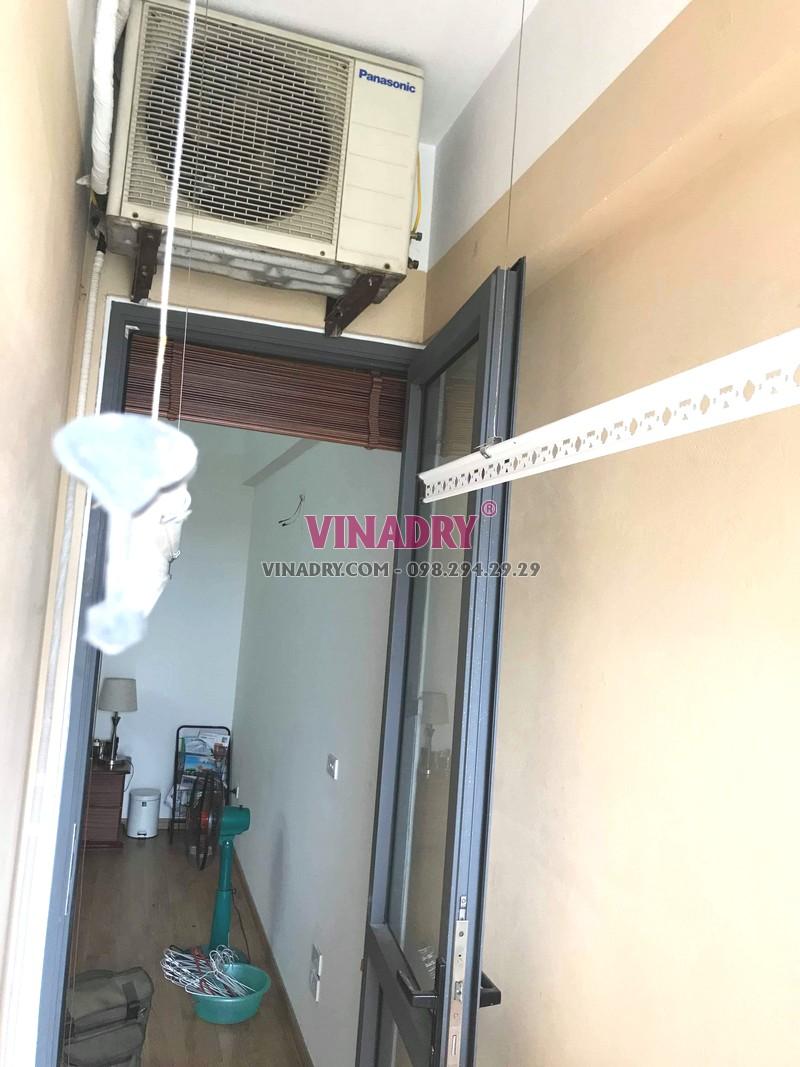 Sửa chữa giàn phơi thông minh tại Hoàng Mai nhà anh Kỹ, chung cư CT36B Định Công -05