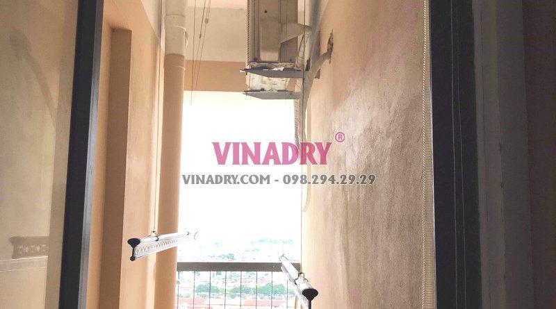 Sửa chữa giàn phơi thông minh tại Hoàng Mai nhà anh Kỹ, chung cư CT36B Định Công -06