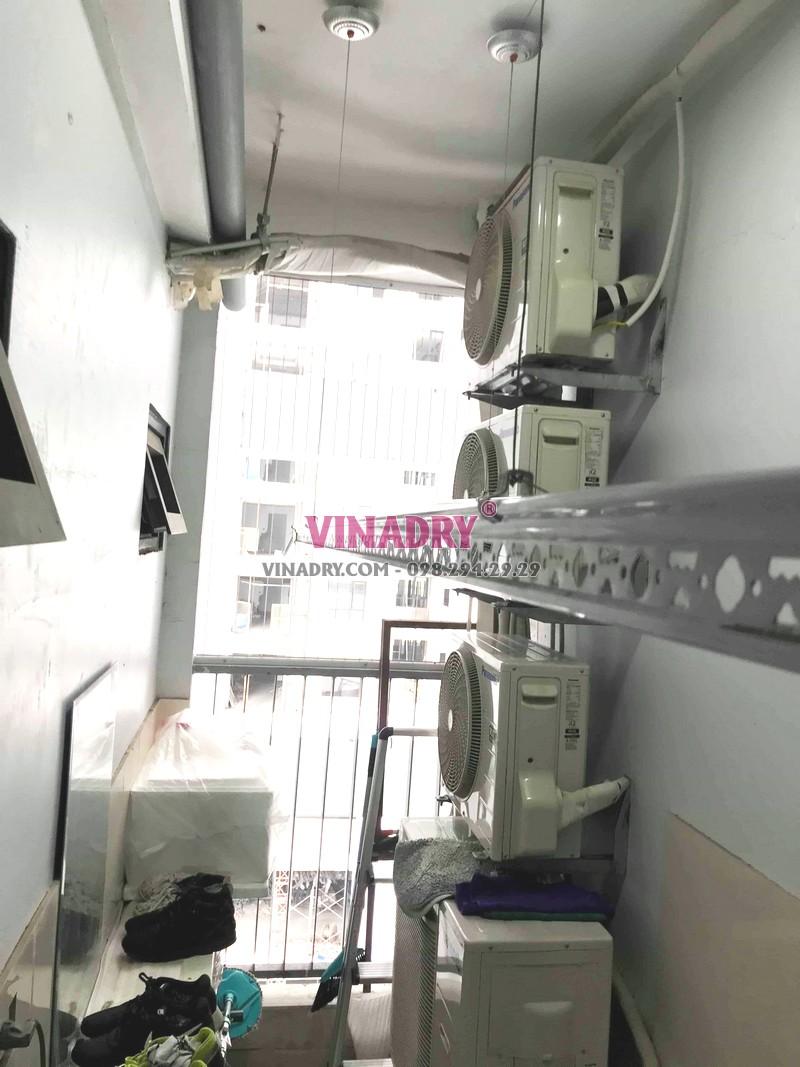 Sửa giàn phơi giá rẻ tại Bắc Từ Liêm nhà anh Vững, chung cư N01T3 Ngoại giao đoàn - 01