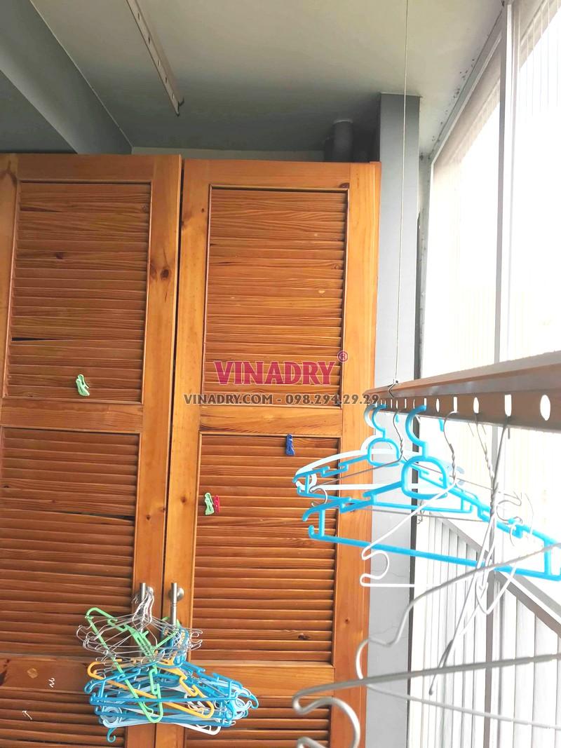 Sửa giàn phơi tại Ecopark, tòa E khu rừng cọ nhà chị Sang - 02