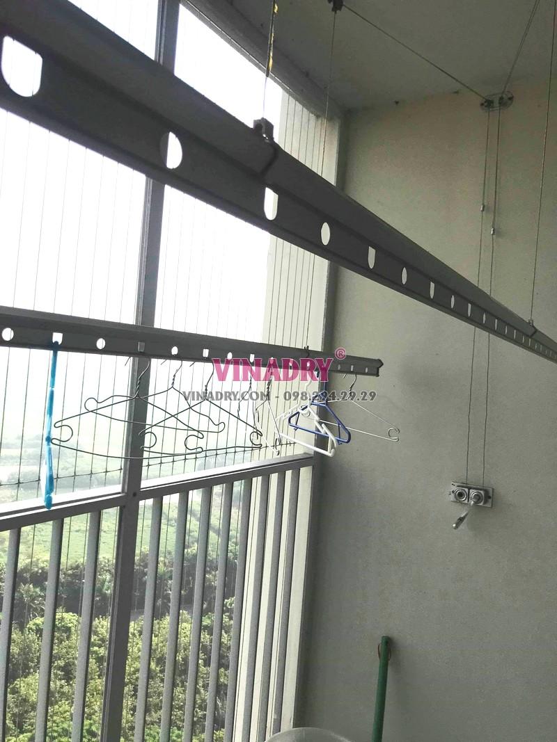 Sửa giàn phơi giá rẻ tại Ecopark, tòa E khu rừng cọ nhà chị Sang - 02