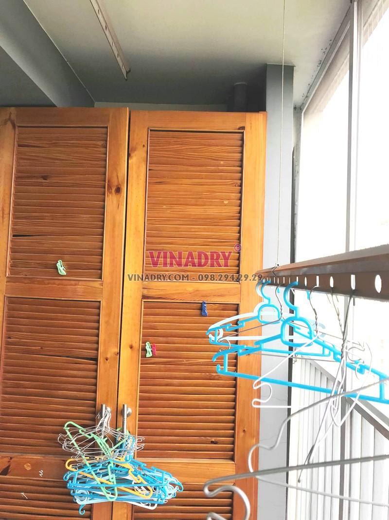 Sửa giàn phơi giá rẻ tại Ecopark, tòa E khu rừng cọ nhà chị Sang - 03