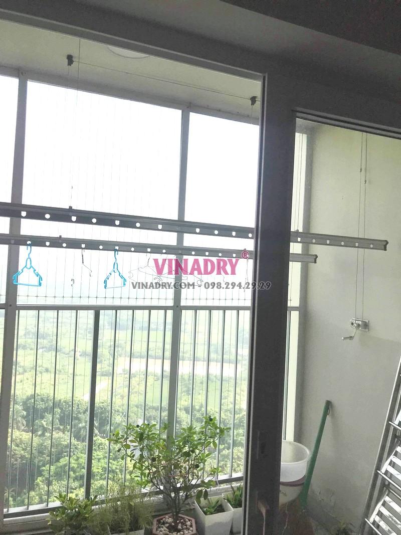 Sửa giàn phơi giá rẻ tại Ecopark, tòa E khu rừng cọ nhà chị Sang - 04