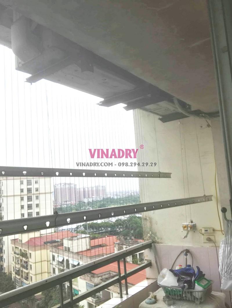 Sửa giàn phơi Long Biên tại chung cư K6, KĐT Việt Hưng nhà chị Thành - 01