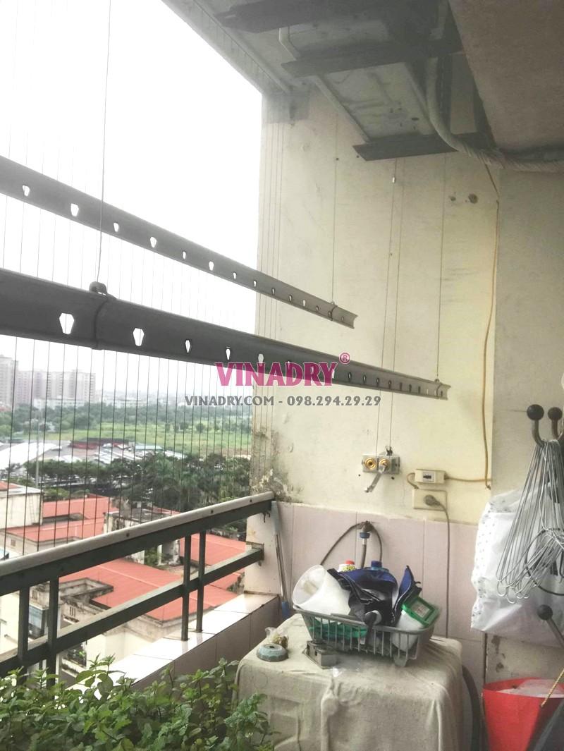 Sửa giàn phơi Long Biên tại chung cư K6, KĐT Việt Hưng nhà chị Thành - 06