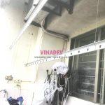 Sửa giàn phơi Long Biên tại chung cư K6, KĐT Việt Hưng nhà chị Thành