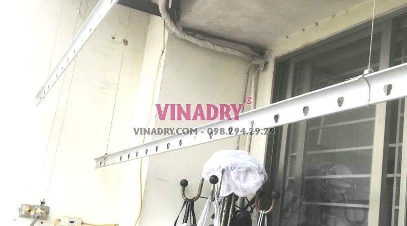 Sửa giàn phơi Long Biên tại chung cư K6, KĐT Việt Hưng nhà chị Thành - 07