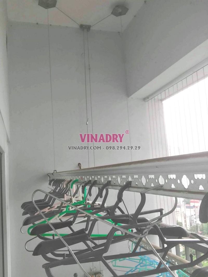 Sửa giàn phơi tại chung cư CT5B Resco Cổ Nhuế, Bắc Từ Liêm, Hà Nội - 01