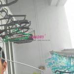 Sửa giàn phơi tại chung cư CT5B Resco Cổ Nhuế, Bắc Từ Liêm, Hà Nội