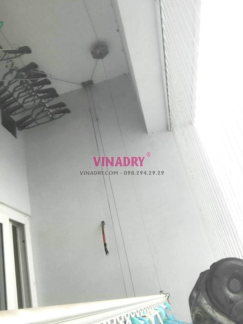 Sửa giàn phơi tại chung cư CT5B Resco Cổ Nhuế, Bắc Từ Liêm, Hà Nội - 06