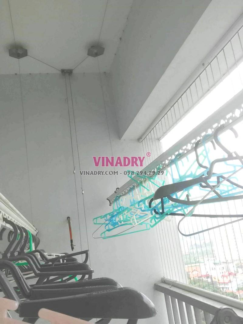 Sửa giàn phơi tại chung cư CT5B Resco Cổ Nhuế, Bắc Từ Liêm, Hà Nội - 07