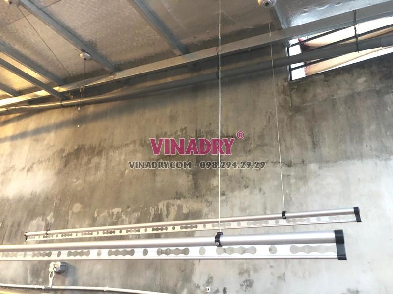 Lắp giàn phơi thông minh tại Thanh Oai, Hà Nội nhà chị Thu, xã Tảo Dương - 05