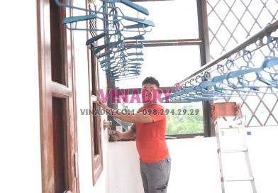 Lắp giàn phơi tại Thanh Xuân nhà chú Thu, phố Bùi Xương Trạch bộ GP902