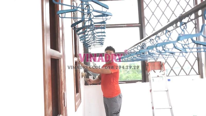 Lắp giàn phơi tại Thanh Xuân nhà chú Thu, phố Bùi Xương Trạch bộ GP902 - 01
