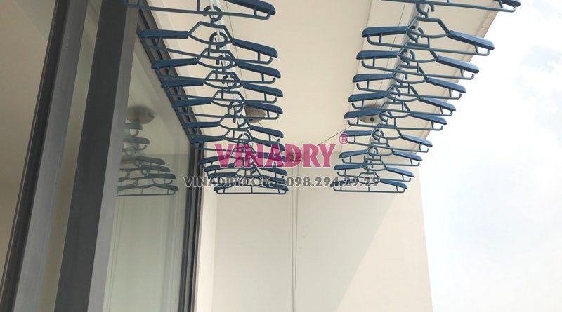 Lắp giàn phơi thông minh tại Vinhomes Green Bay Mễ Trì nhà anh Tùng bộ Vinadry GP902 - 01