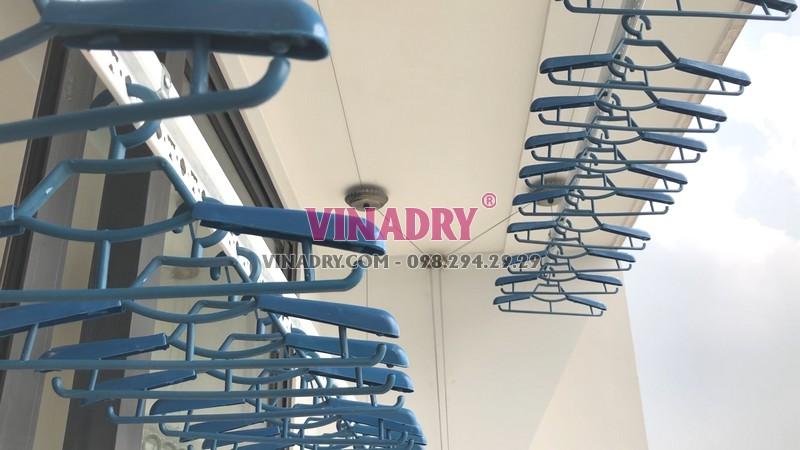 Lắp giàn phơi thông minh tại Vinhomes Green Bay Mễ Trì nhà anh Tùng bộ Vinadry GP902 - 04