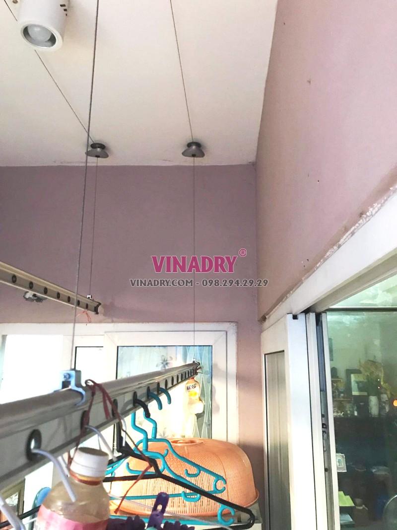 Sửa giàn phơi tại KĐT Việt Hưng, Long Biên nhà bác Cẩm chung cư GH4 Green House - 03