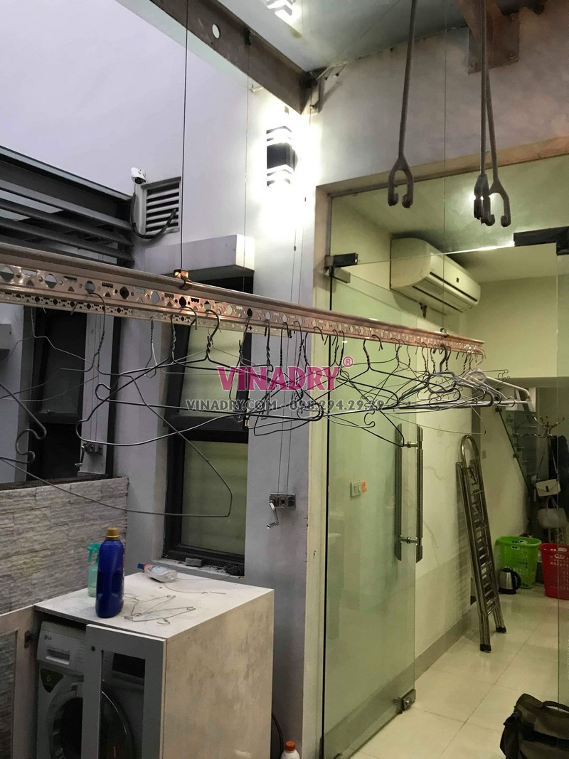 Sửa giàn phơi thông minh tại KĐT Gamuda, Hoàng Mai, Hà Nội nhà anh Minh - 03