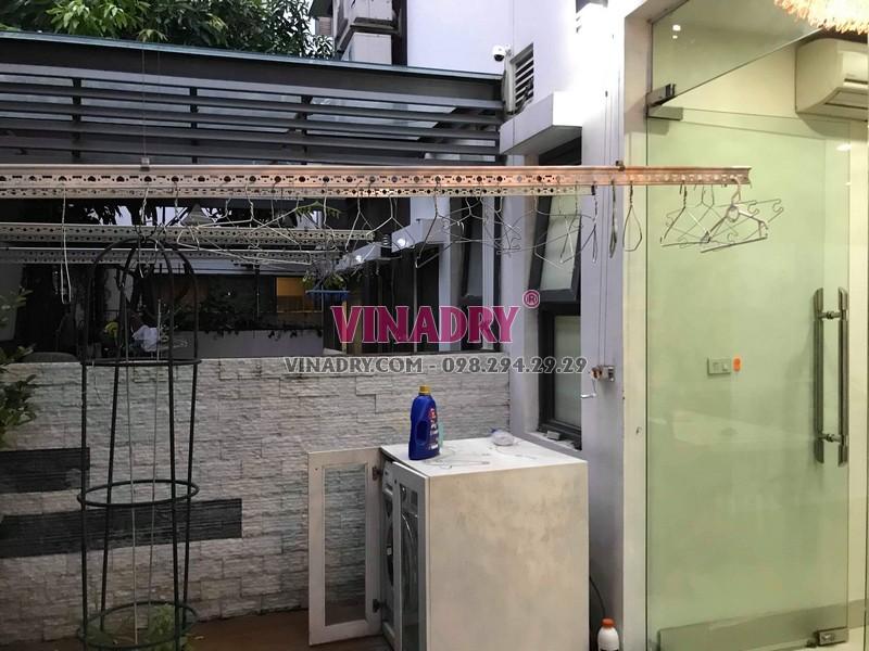 Sửa giàn phơi thông minh tại KĐT Gamuda, Hoàng Mai, Hà Nội nhà anh Minh - 05