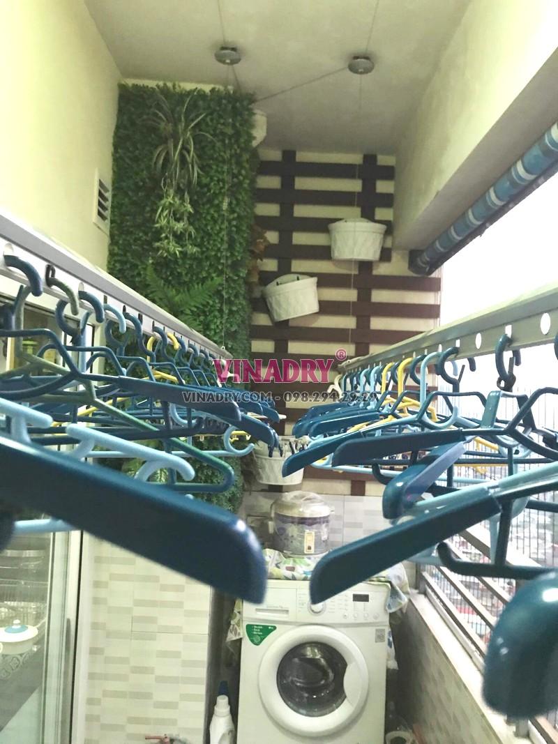 Sửa giàn phơi tại chung cư Nam Đô Complex, 609 Trương Định nhà chị Thi - 01