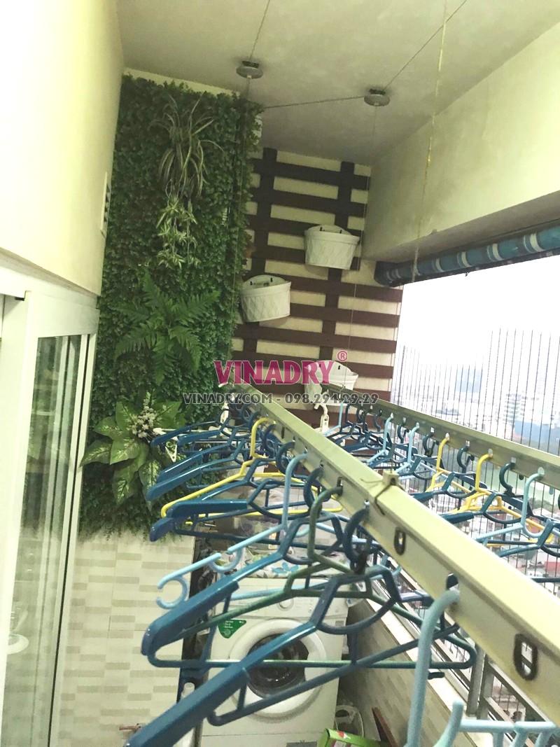 Sửa giàn phơi tại chung cư Nam Đô Complex, 609 Trương Định nhà chị Thi - 02