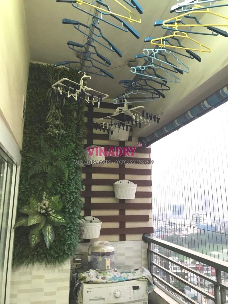 Sửa giàn phơi tại chung cư Nam Đô Complex, 609 Trương Định nhà chị Thi - 03