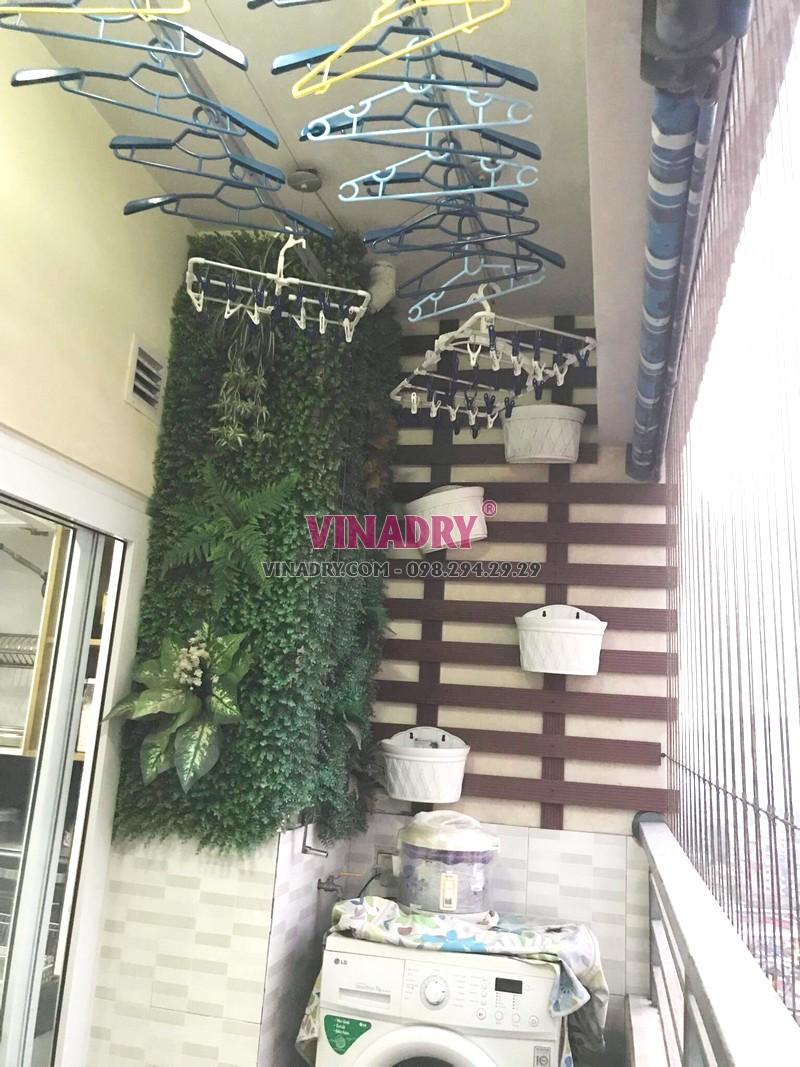 Sửa giàn phơi tại chung cư Nam Đô Complex, 609 Trương Định nhà chị Thi - 06