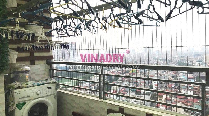 Sửa giàn phơi tại chung cư Nam Đô Complex, 609 Trương Định nhà chị Thi - 07